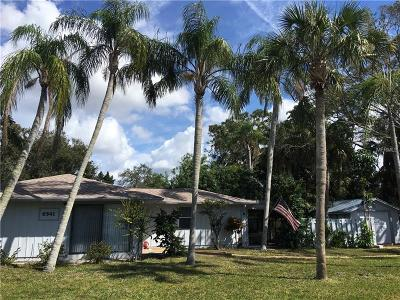 Sarasota Single Family Home For Sale: 6541 Avenue D