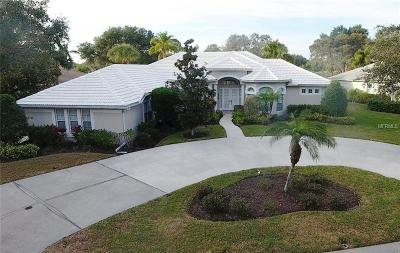 Nokomis Single Family Home For Sale: 2155 Calusa Lakes Boulevard