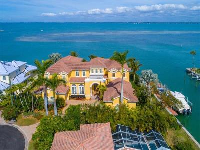 Longboat Key FL Single Family Home For Sale: $4,250,000