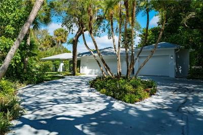 Sarasota Single Family Home For Sale: 7315 Periwinkle Drive