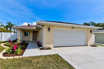 Bradenton Single Family Home For Sale: 3303 28th St W