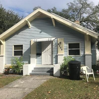 St Petersburg Single Family Home For Sale: 1710 Queen Street S