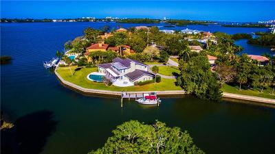 Sarasota Single Family Home For Sale: 1230 N Lake Shore Drive