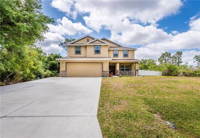 North Port Single Family Home For Sale: 7161 Perennial Road