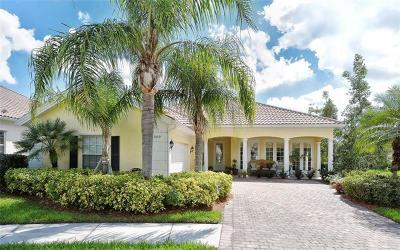 Sarasota Single Family Home For Sale: 5811 Girona Place