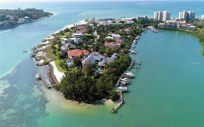 Sarasota County Single Family Home For Sale: 15 Lighthouse Point Drive