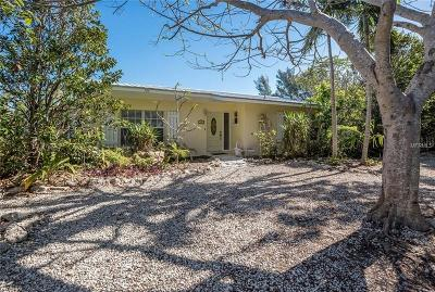 Anna Maria Single Family Home For Sale: 720 Jacaranda Road