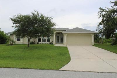 Port Charlotte Single Family Home For Sale: 14494 Fort Worth Circle
