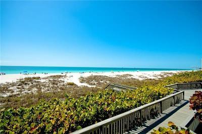 Holmes Beach Condo For Sale: 5610 Gulf Dr #1