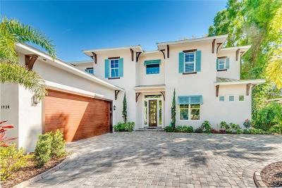 Sarasota FL Single Family Home For Sale: $1,950,000