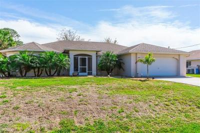 North Port Single Family Home For Sale: 1433 Exchange Avenue