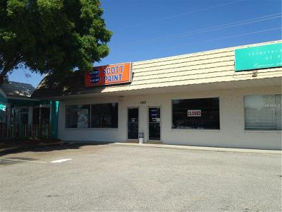 Venice Commercial For Sale: 1833 Tamiami Trail S