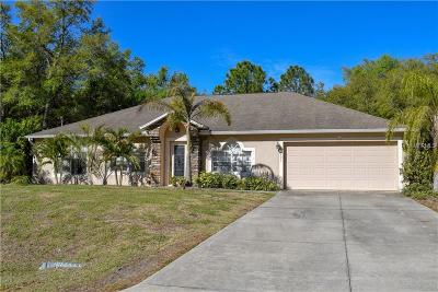 North Port Single Family Home For Sale: 2331 Jacoby Circle