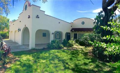 Sarasota FL Single Family Home For Sale: $1,099,000