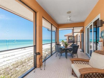 Bradenton Beach Condo For Sale: 1710 Gulf Drive N #E