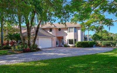 Sarasota Single Family Home For Sale: 5482 Golf Pointe Drive