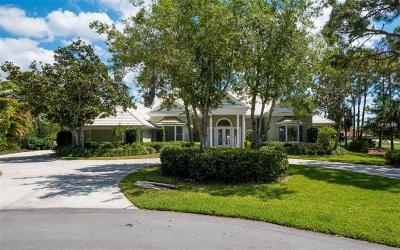 Osprey FL Single Family Home For Sale: $1,445,000