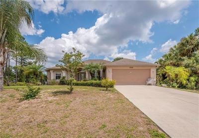 North Port Single Family Home For Sale: 3008 Sean Road