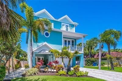 Anna Maria Single Family Home For Sale: 214 Spring Avenue