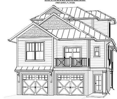 Anna Maria Single Family Home For Sale: 892 North Shore Drive