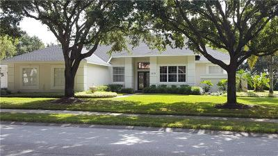 Single Family Home For Sale: 7273 N Serenoa Drive