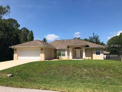 North Port Single Family Home For Sale: 4925 Globe Terrace