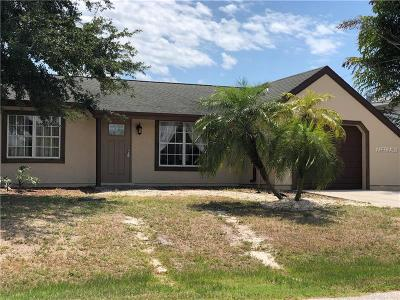 Port Charlotte Single Family Home For Sale: 19261 Palmdale Court