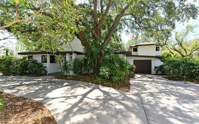 Sarasota Single Family Home For Sale: 1922 Oleander Street