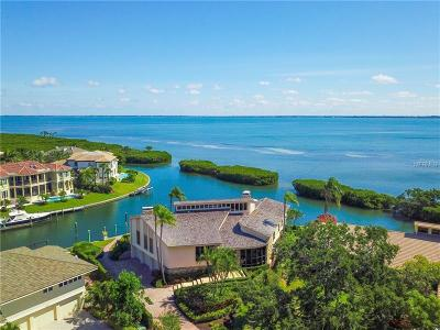 Longboat Key FL Single Family Home For Sale: $3,500,000
