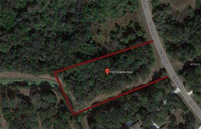 Wimauma Residential Lots & Land For Sale: 3109 Timberlee Road
