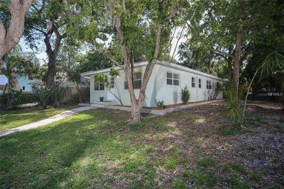 Sarasota Single Family Home For Sale: 1802 Cocoanut Avenue