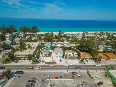 Holmes Beach Commercial For Sale: 300630083010 Gulf Drive