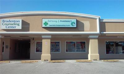 Manatee County Commercial For Sale: 5135 & 5139 Manatee Avenue W #9a,  9b