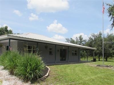 Myakka City Single Family Home For Sale: 27350 67th Avenue E