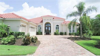 Lakewood Ranch Single Family Home For Sale: 15407 Leven Links Place