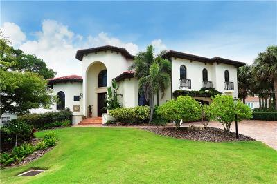 Longboat Key Single Family Home For Sale: 524 Schooner Lane