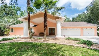 Homosassa Single Family Home For Sale: 4724 S Myrtle Way