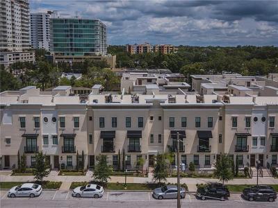 Orlando Townhouse For Sale: 635 E Jackson Street #635
