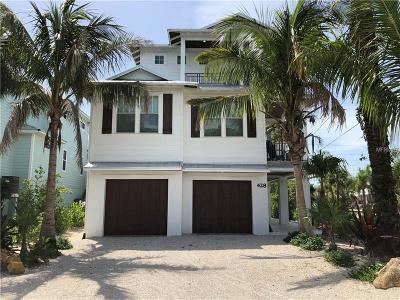 Anna Maria FL Single Family Home For Sale: $2,495,000