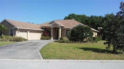 Bradenton Single Family Home For Sale: 15005 17th Avenue E