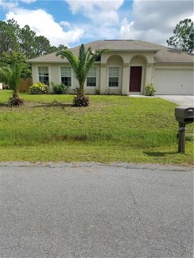 Palm Bay Single Family Home For Sale: 1159 Dorchester Road NW