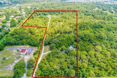 Sarasota County Residential Lots & Land For Sale: 1881 Laurel Road E