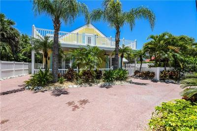 Anna Maria FL Single Family Home For Sale: $1,750,000