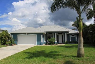 Punta Gorda Single Family Home For Sale: 2136 Harbour Drive