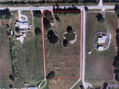 Myakka City Residential Lots & Land For Sale: 9935 Wauchula Road