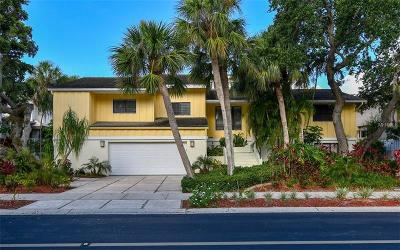 Longboat Key Single Family Home For Sale: 3421 Bayou Sound