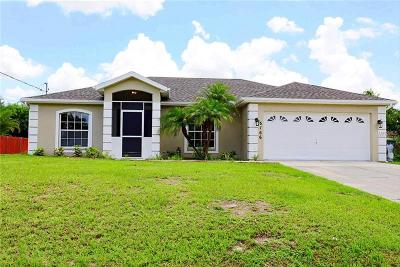 North Port Single Family Home For Sale: 5166 Lovett Road