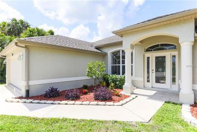 North Port Single Family Home For Sale: 2529 Delwood Court