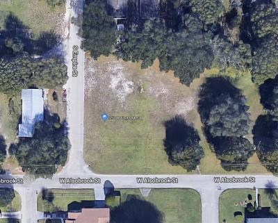 Plant City Residential Lots & Land For Sale: 1250 W Alsobrook Street