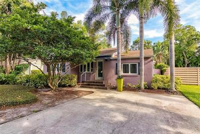 Sarasota Single Family Home For Sale: 1762 Prospect Street